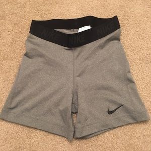 NIKE athletic spandex shorts